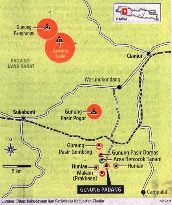 87 lokasi situs