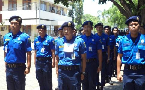 PMK Kabupaten Magetan dengan seragam biru kebanggaannya